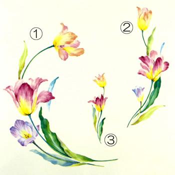 花柄大1~5